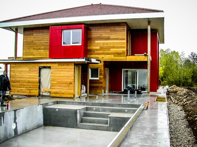 Ambiance bois maisons d 39 architecte ambiance bois for Architecte batiment agricole