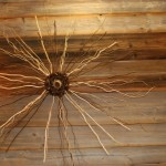 Objet décoratif en bois